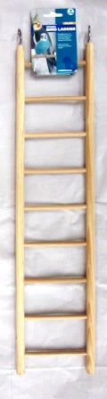 BIRD LADDER WOODEN 9 STEPS
