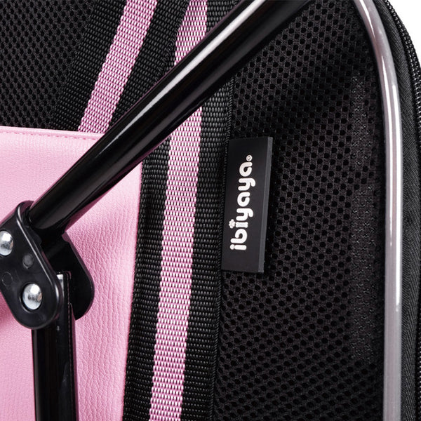 DOUBLE FUN CARRIER AND PRAM - PINK