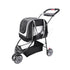 DOUBLE FUN CARRIER AND PRAM - SILVER