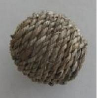 CAT TOY JUTE BALL
