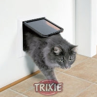 CAT DOOR 4 WAY LOCKING WITH TUNNEL (WHITE)