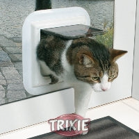 CAT DOOR 4 FUNCTION FOR GLASS FIXING (GREY)