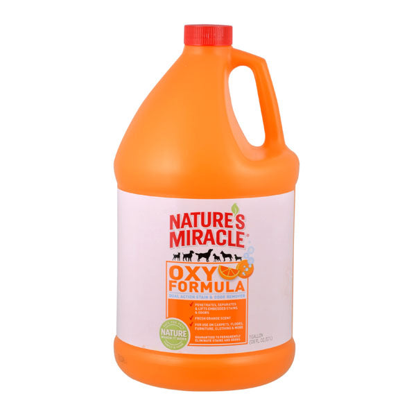 NATURE'S MIRACLE STAIN & ODOUR ORANGE OXY POWER 1 GALLON