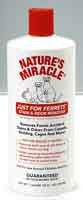 NATURE'S MIRACLE JUST FOR FERRETS STAIN & ODOUR REMOVER 947ML