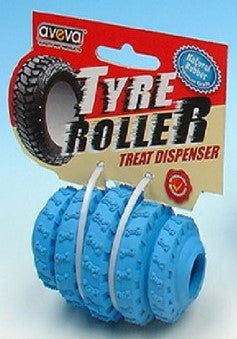 TYRE ROLLER MEDIUM BLUE