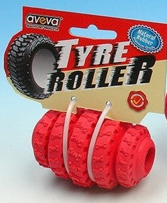 TYRE ROLLER SMALL RED