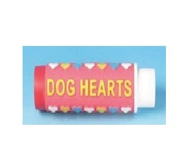 DOG TOY SQUEAKY VINYL CANDY DOG HEARTS