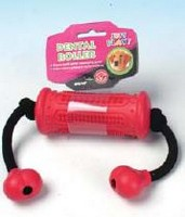 DOG TOY DENTAL ROLLER & ROPE SMALL