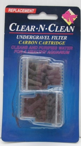 CARBON CARTRIDGE FOR UNDERGRAVEL FILTERS