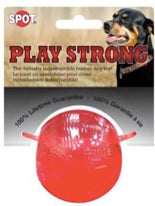 "PLAY STRONG RUBBER BALL 3.75"" LARGE"