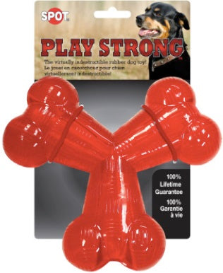 PLAY STRONG RUBBER Y BONE 6""
