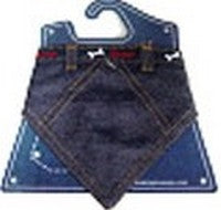 DOG BANDANNA DENIM ASST COLOUR SMALL