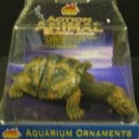 ACTION ORNAMENT BUBBLING LONG NECK TURTLE