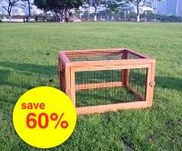 WOODEN EXERCISE PEN