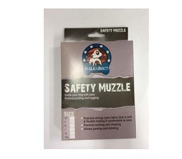 MUZZLE NYLON BLACK X-SMALL (12cm)