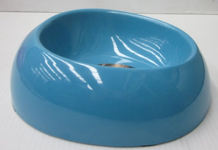 BOWL MELAMINE BLUE MEDIUM