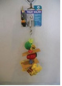BIRD TOY FRUIT SALAD LARGE