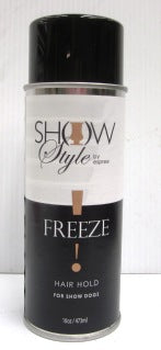 """FREEZE"" HAIR SPRAY FOR SHOW DOGS 473ml"