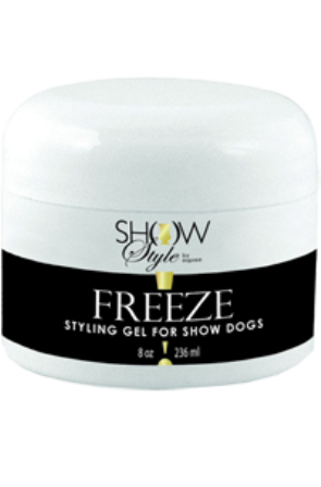 """FREEZE"" STYLING GEL FOR SHOW DOGS 235ml"