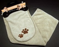 TOWEL SET WITH MITT MICROFIBRE