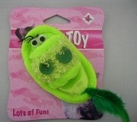 CAT TOY GREEN SLIPPER