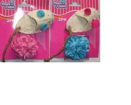 MOUSE SLIPPER W/BALL PACK