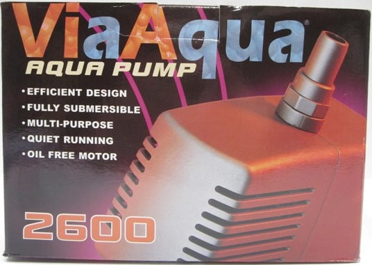 PUMP FOR FOUNTAIN HEAD 2300L/HR