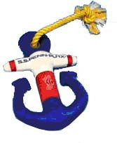 DOG TOY FLOATING ANCHOR W/ROPE SMALL