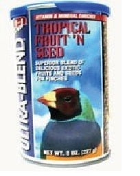 SUPPLEMENTS FINCH TROPICAL FRUIT 'N SEED 227gm