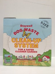 DOG TOILET CLEAN UP SYSTEM