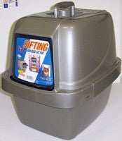 ENCLOSED LARGE SIFTING LITTER PAN