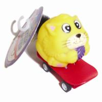 CAT TOY LATER SKATER WITH FUR (24/BOX)
