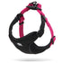 2 TONE HARNESS BLACK / PINK LARGE