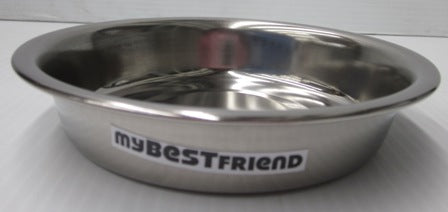 BOWL STAINLESS STEEL PUPPY 15cm