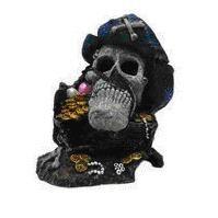 ORNAMENT RESIN PIRATES TREASURE