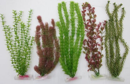 PLANTS PLASTIC  ASSORTED 20 - 25CM