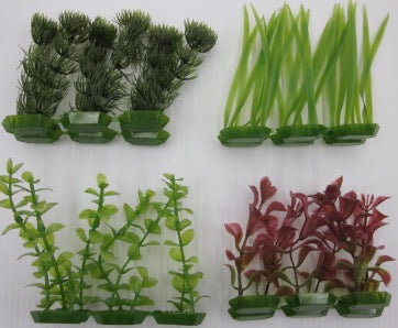 PLANTS PLASTIC  ASSORTED 9-11CM