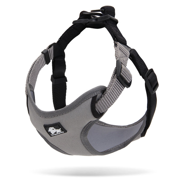 2 TONE HARNESS GREY / BLACK SMALL