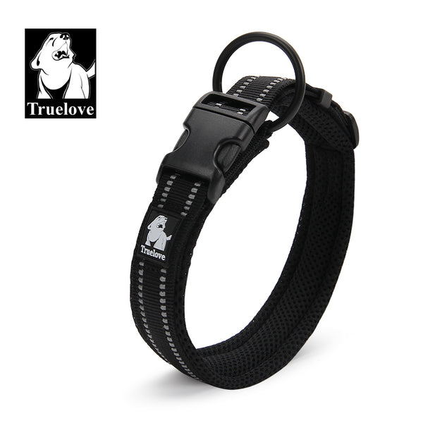 COLLAR PADDED REFLECTIVE BLACK SMALL