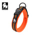 COLLAR PADDED REFLECTIVE FLURO ORANGE MEDIUM