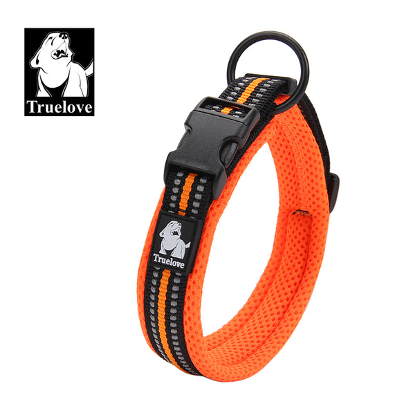 COLLAR PADDED REFLECTIVE FLURO ORANGE X-LARGE