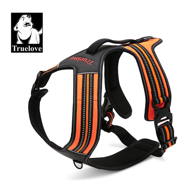 HEAVY DUTY MESH REFLECTIVE HARNESS FLURO ORANGE SMALL