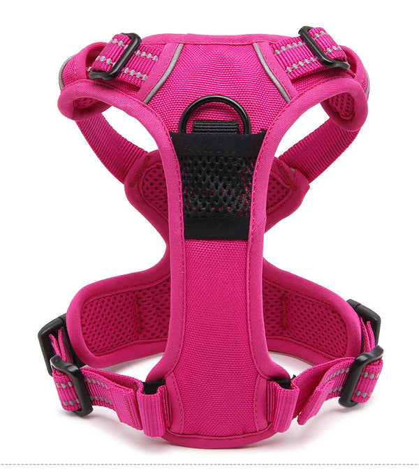 2 CLIP HARNESS PINK LARGE