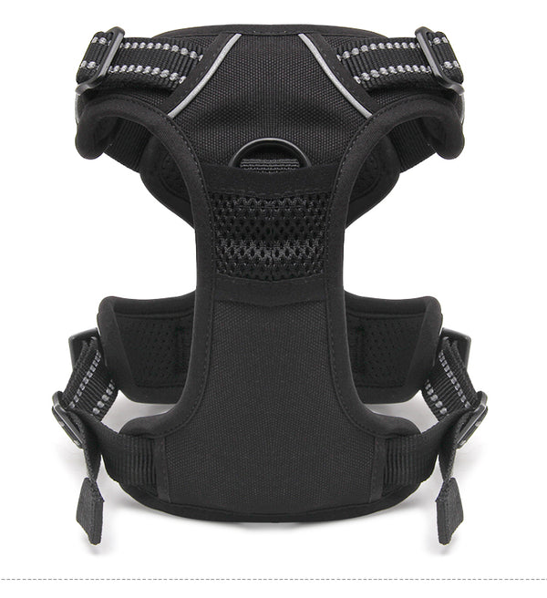 2 CLIP HARNESS BLACK X-LARGE