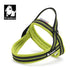 LIGHT WEIGHT SOFT HARNESS FLURO GREEN X-SMALL