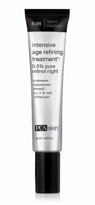 Intensive Age Refining Treatment: 0.5% pure retinol night