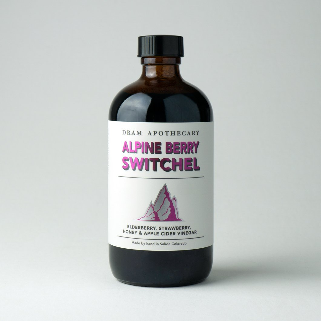 Alpine Berry Switchel Drinking Vinegar (Concentrate)