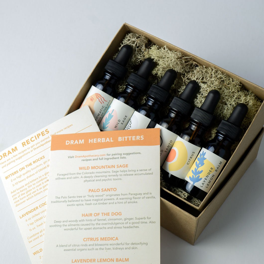 Cocktail Bitters Gift Set - All 6 Flavors