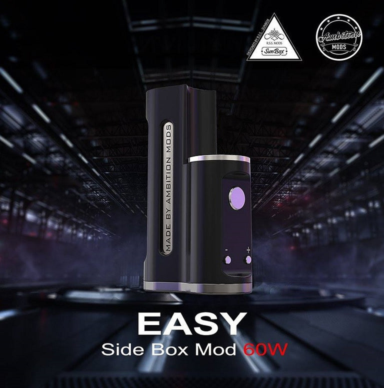 EASY SIDE BOX MOD STEALTH – EVOLV DNA 60W