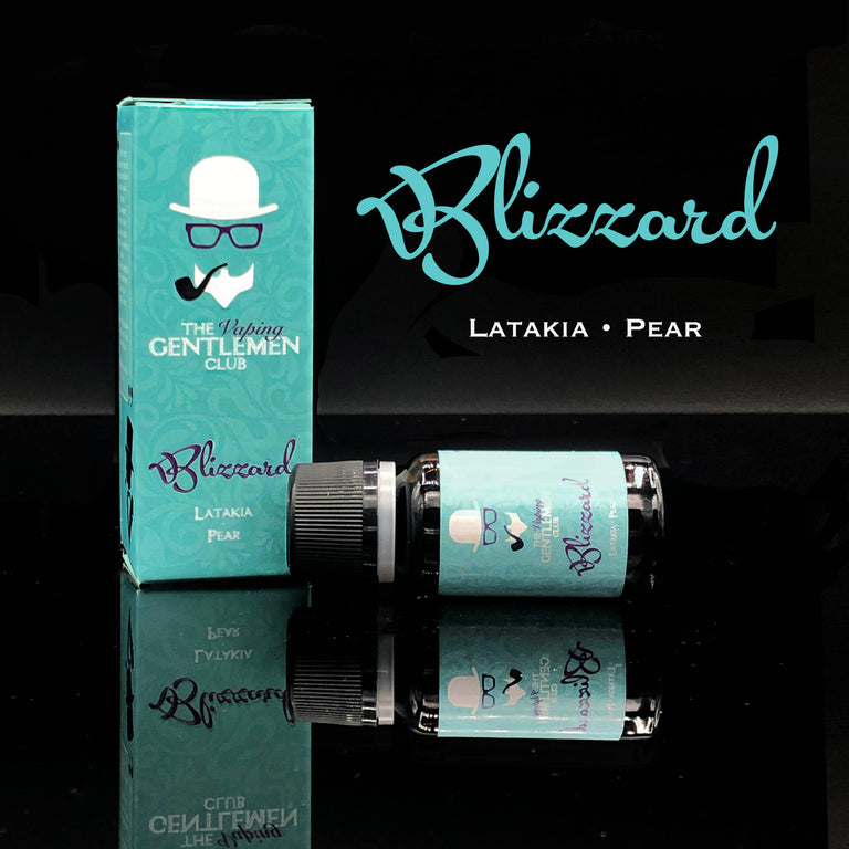 Blizzard - Latakia & Pear